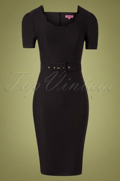 Rebel Love 32403 Pencildress Indulgence Black 10302019 005W