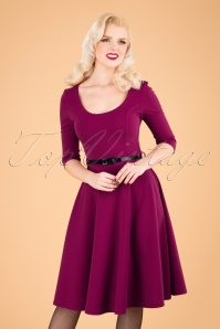 Vintage Chic 31428 Swingdress Pink 09192019 040MW