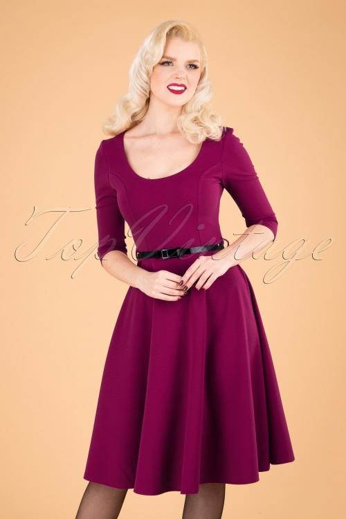 Vintage Chic 31428 Swingdress Pink 09192019 040MW