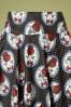 Belsira 32916 Swingskirt Black Polka Cats 10312019 007 V