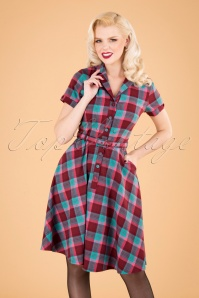 Vixen 30896 Swingdress 50s Piper Multy Checked 10012019 040MW