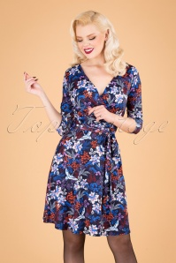 Yumi 29776 Swingdress Blue Floral Autumn 09092019 040MW