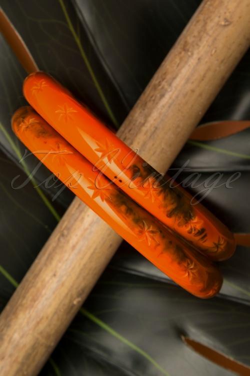 Splendette 32467 Fox Bangles Orange 20191030 013 W