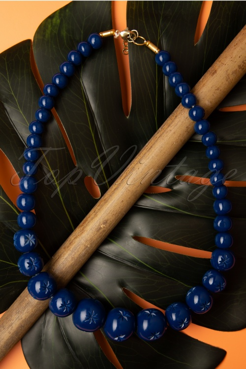 Splendette 32475 Twilight Blue Necklace Beads 20191030 001 W