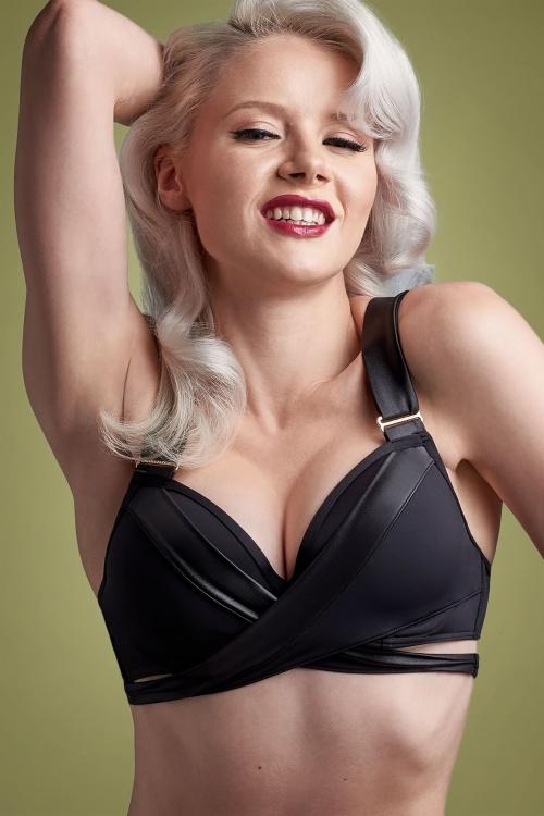 Marlies Dekkers 31263 Padded Push Up Bikini Top in Black 20191105 026L copy