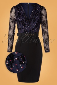 Paper Dolls 31088 Swingdress Black Navy 11052019 003Z