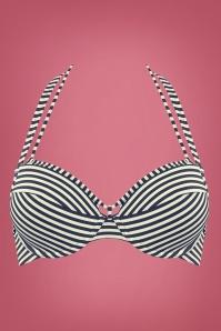 Marlies Dekkers 27907 Navy Ecru Holi Vintage Bikinitop 20140508 004 copy