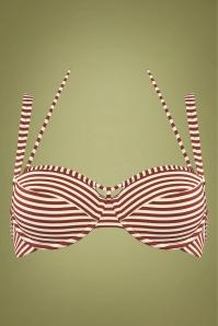 Marlies Dekkers 30111 Bathing Suit Red Striped 20190308 010 copy