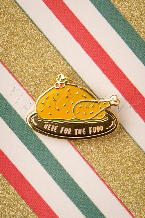 Punky Pins 32875 Pin Food Turkey Gold 11042019 003W