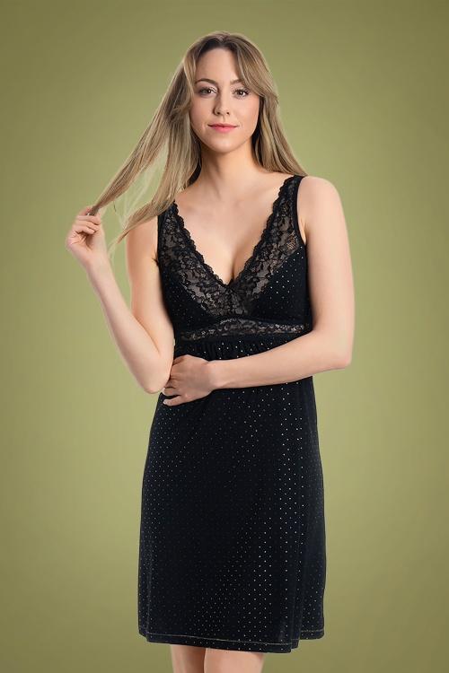 Vive Maria Glamour Night Negligee black 36982 11