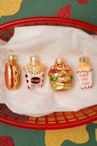 Fast Food Bauble Set