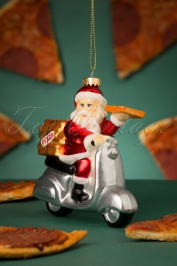 Sass&Belle 32663 Pizza Santa Red White Scooter Delivery 20191106 037 W