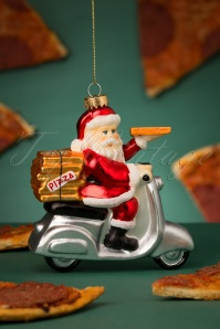 Sass&Belle 32663 Pizza Santa Red White Scooter Delivery 20191106 035 W