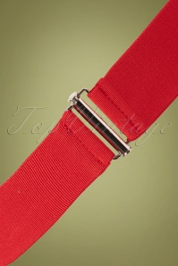 Collectif Billie Cinch Belt Red 2 W