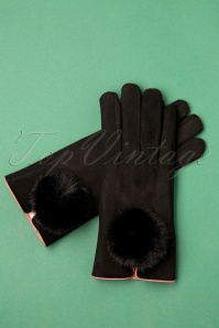 50s Jabin Gloves in Black