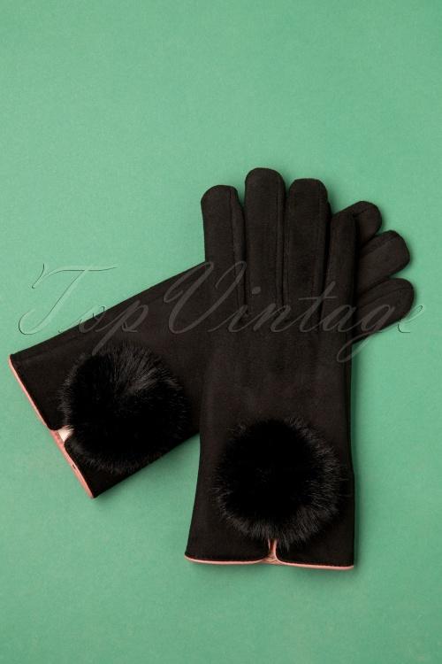 Louche 30066 Jabin Glove Black20191111 007 W