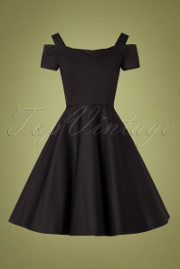 Bunny 32478 Swingdress Black Helen 11112019 003W