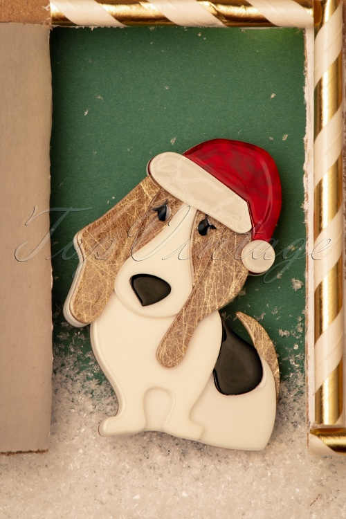 Erst Wilder 33054 Brouche Dog Gingerbread House Christmas 20191113 023 W