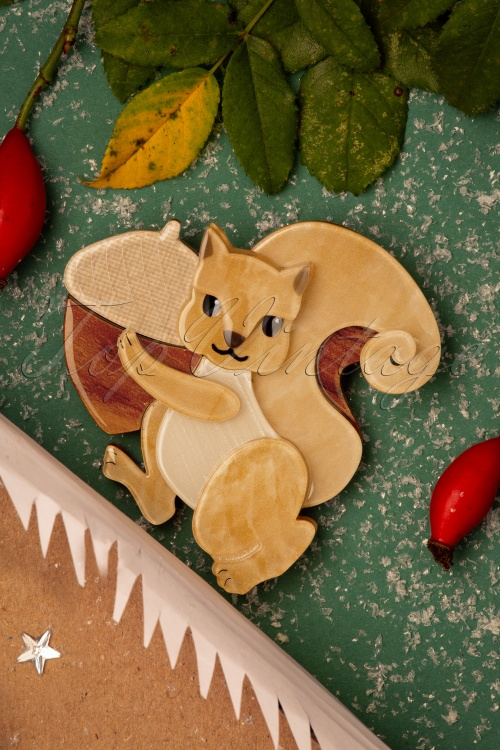 Erst Wilder 33059 Squirrel Christmas Brouche 20191113 009