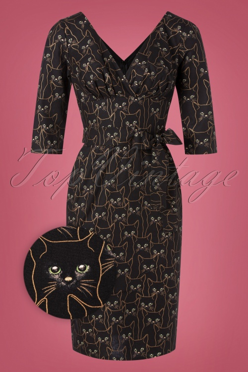 Victory Parade 32356 PEncildress Rita Gold Cats 11132019 001Z