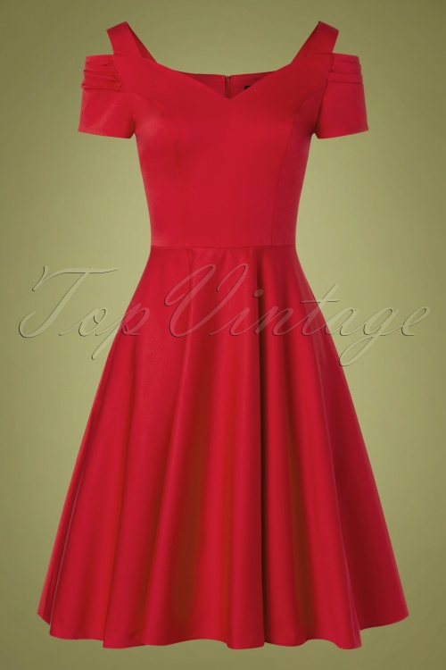 Bunny 32480 Swingdress Red Helene 11132019 010W