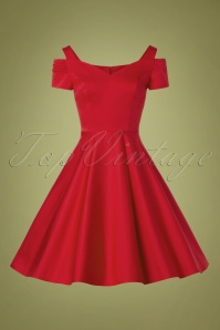 Bunny 32480 Swingdress Red Helene 11132019 002W