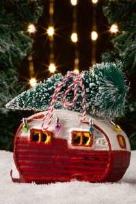 Sass&Belle 32658 Bauble Bus Red Camper Red Green Tree 20191111 006 W