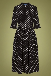 Collectif 29926 elisa polka dot swing dress 20190415 021LW