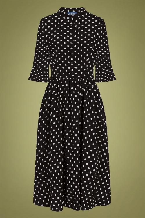 Collectif 29926 elisa polka dot swing dress 20190415 021LW