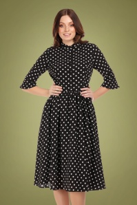 Collectif 29926 elisa polka dot swing dress 20190415 020LW