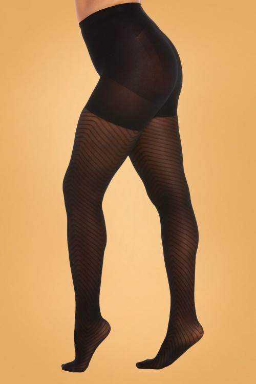Magic Bodyfasion 32436 Chevron Legs Panty 191104 001