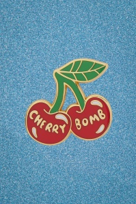TopVintage exclusive ~ 50s Cherry Bomb Enamel Pin