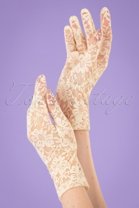 Juliettes Romance 32938 Gloves Capucine Cream 11152019 002W