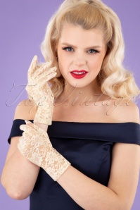 Juliettes Romance 32938 Gloves Capucine Cream 11152019 001W