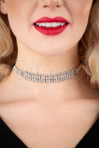 Darling Divine 31330 Necklace 20s Sparkle Black Choker 20191115 009W