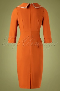 Daisy Dapper 32012 Pencildress Emma Orange 11192019 005W