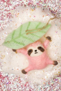 Sass&Belle 32673 Sloth Pink Leaf Christmas 191119 037 W