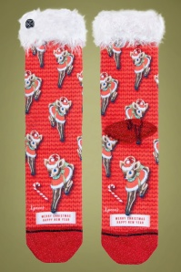 Xpooos 33212 Socks Xmas Red 191119 001 copy