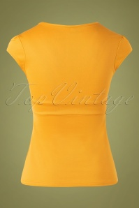 Steady Clothing 32090 Top Classic Lush Mustard 11252019 008W