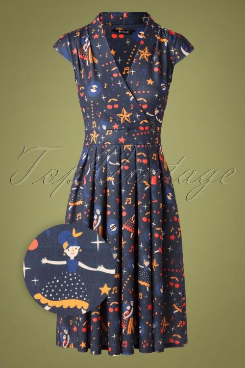 Lady Vintage 32651 Swingdress Eva Blue Dance Stars 11262019 003Z