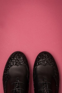 La Veintineuve 31498 Agnes Black Flats Glitter 191129 016 copy