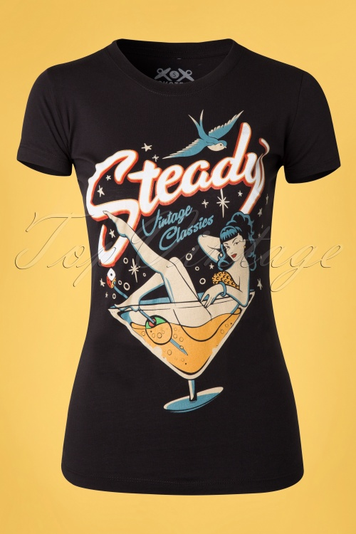 Steady Clothing 20s Anniversary Rockabilly Top  111 10 14522 20141201 0003W