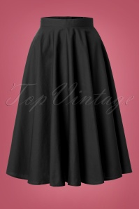 Bunny Navy Blue Swing Skirt 122 31 12050 20140601 0015W