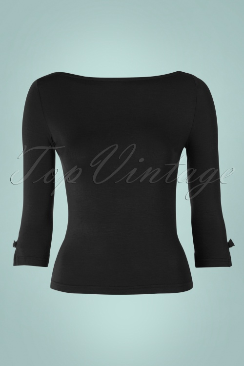 Dancing Days by Banned Sophie Top in Black 113 20 17788 20160308 0004W
