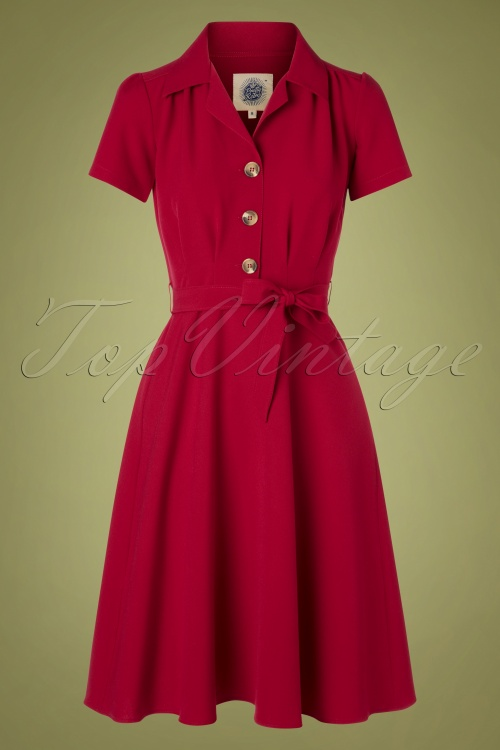 Pretty Retro 32319 Diner Dress in Red 20191202 004 W