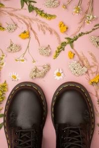 Dr martens 29105 Boots Black Flowers Docs 191210 005
