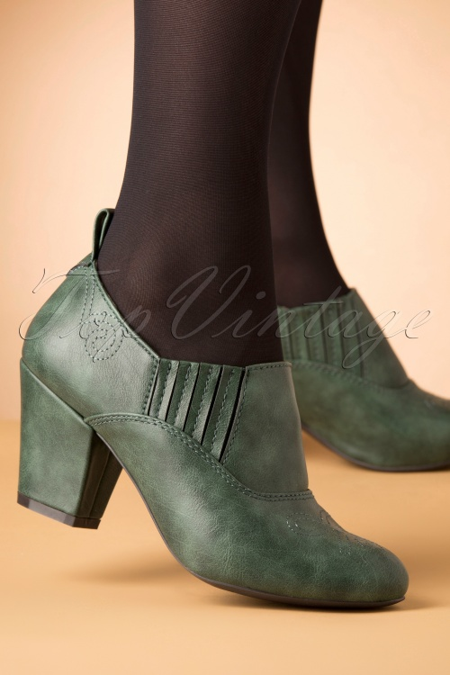 Bait Footwear 31232 Howdy Green Heels 20191015 007 W