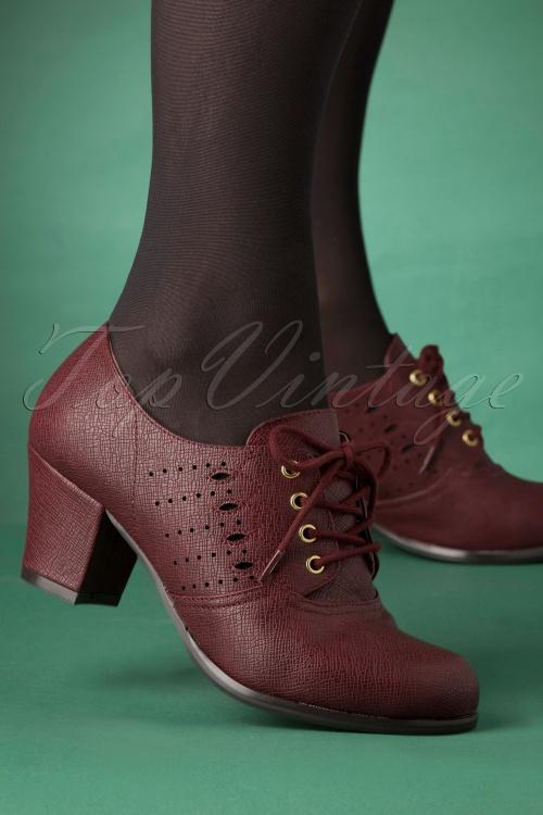 Bait Footwear 31234 Rosie Bootie Red Wine 20191015 004 W