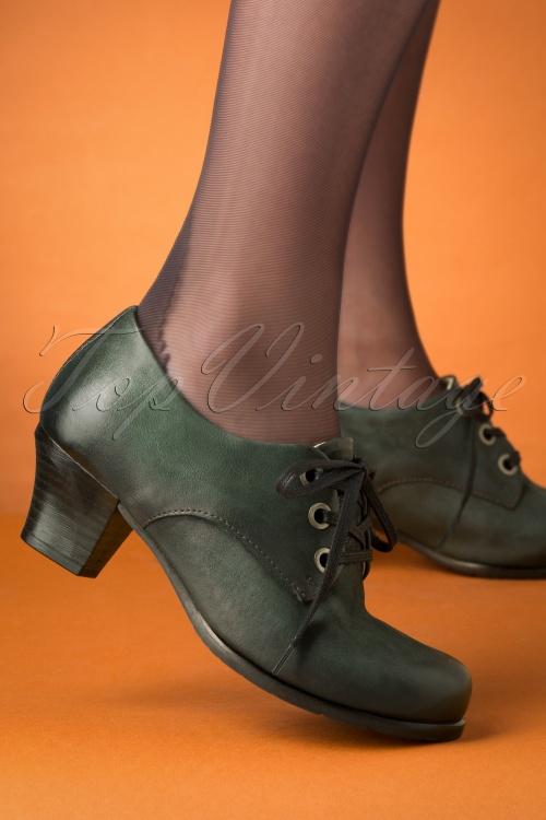Miz Mooz 30041 Frasier Shoe Forest Green Heels 20190618 040 Recovered W