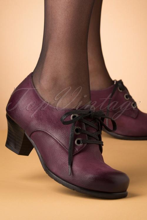 Miz Mooz 30042 Frasier Shoe Wine Heels Purple Bordeaux Red 20190618 008 W